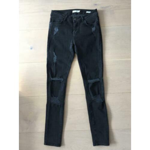 Zwarte destroyed skinny jeans Costes - 29/32