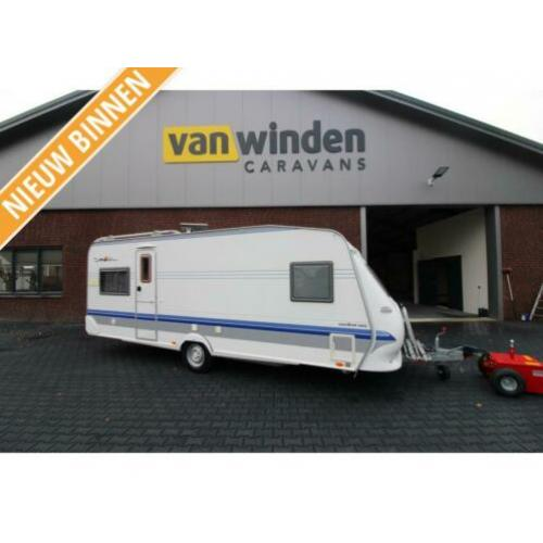 Hobby Excellent Easy 560 UFE 2005-Voortent-Rondzit-Fransbed