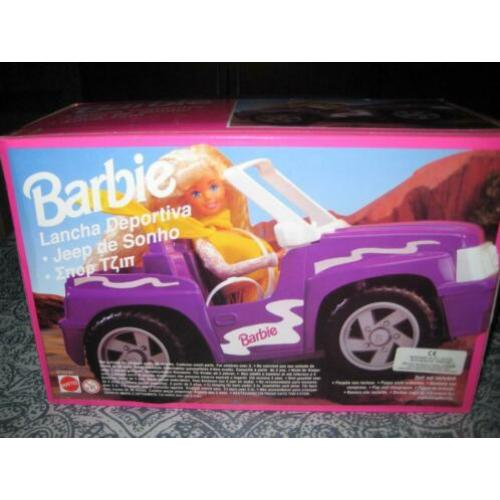 barbie sports jeep cruiser