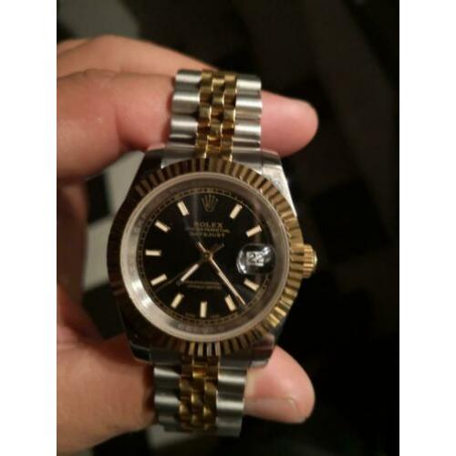 Rolex datejust 41mm goud staal