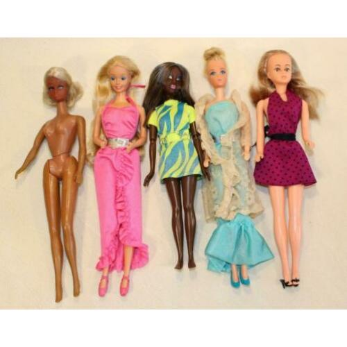 barbie vintage partij poppen lot 4