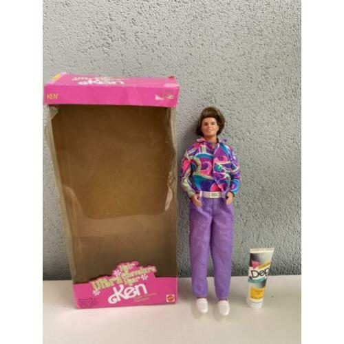 Barbie totally hair Ken met box en gel 1991