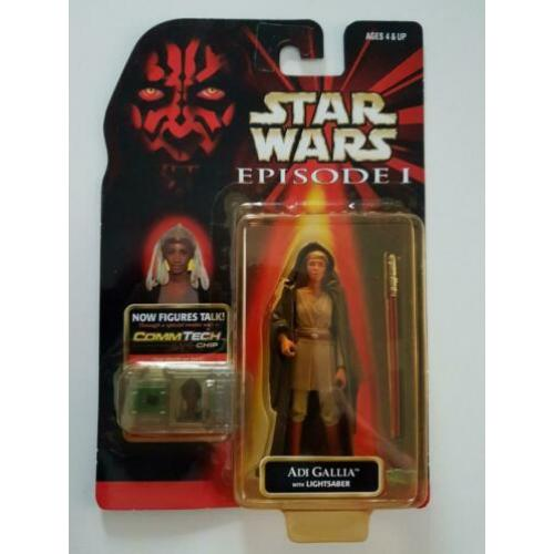-45% Star Wars EP1 Adi Gallia with Lightsaber