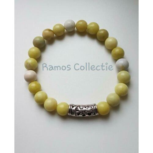 Ramos Collectie  Armband Yellow Mustard