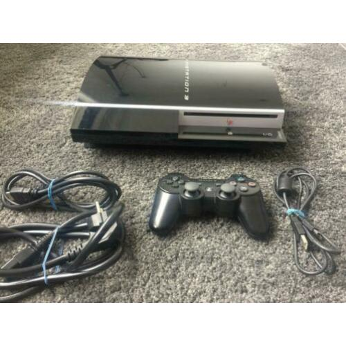 PS3 / PlayStation 3 Phat 80GB met custom firmware/jailbreak