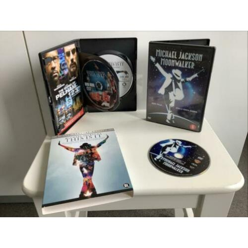3 DVD Michael Jackson Moonwalker This is it Special Edition